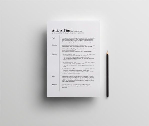 On The Eye Resume Template Classic Resume Template And Mesmerizing Example  Of Skills On Resume Also